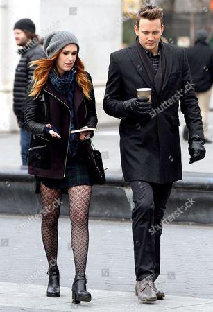 Editorial image of 'Songbyrd' TV Series filming, New York, America - 20 Jan 2014