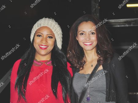 Stock Image of Mariama Goodman and Celena Cherry