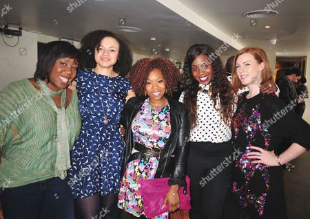 Chizzy Akudolu, Charlyss Peer, Dominique Moore, Petra Letang and Niamh McGrady
