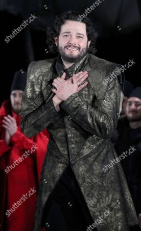 Editorial photo of 'I due Foscari' premiere, Vienna, Austria - 15 Jan 2014