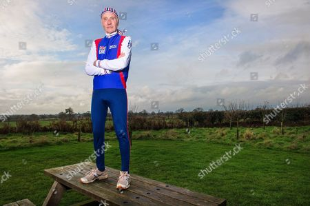 Editorial image of 82-year-old triathlete, Cheshire, Britain - 18 Jan 2014