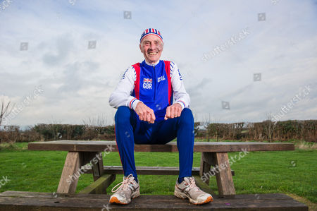 Editorial picture of 82-year-old triathlete, Cheshire, Britain - 18 Jan 2014