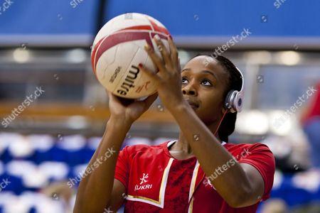 Pamela Cookey of England Netball