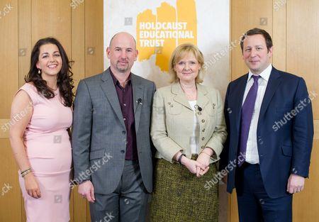 Karen Pollock MBE, Thomas Harding, Martha Kearney and Ed Vaizey MP