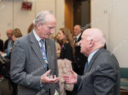 Lord David Hunt with Holocaust survivor Ben Helfgott