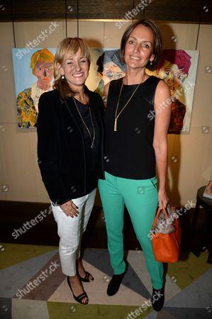 Lorna Watson and Saffron Aldridge