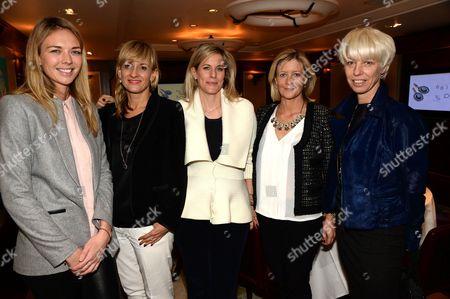 Editorial photo of 'Astley Clarke: Beyond Fine' Jewellery Launch, Scotts Restaurant, London, Britain - 21 Jan 2014