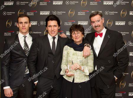 Stock Image of Sean Walkinshaw, Ryan Walkinshaw, Martine Walkinshaw and Ken Nottage