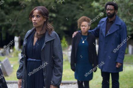 Stock Image of Lorraine Burroughs, Dominique Jackson and Nicholas Pinnock