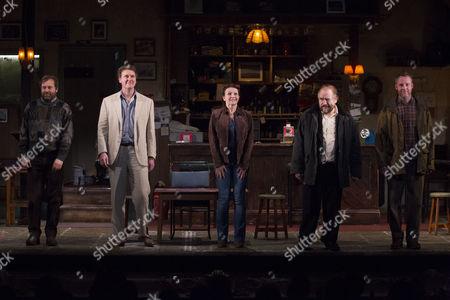 Editorial photo of 'The Weir' Play press night, London, Britain - 21 Jan 2014