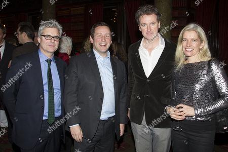 Matthew Byam Shaw (Producer), Ed Vaizey, Risteard Cooper (Finbar) and Suzanne Cooper