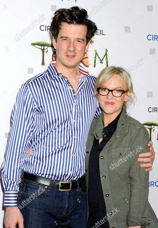 Michael Arden and Rachael Harris