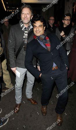 Ian Reddington and Deepak Verma