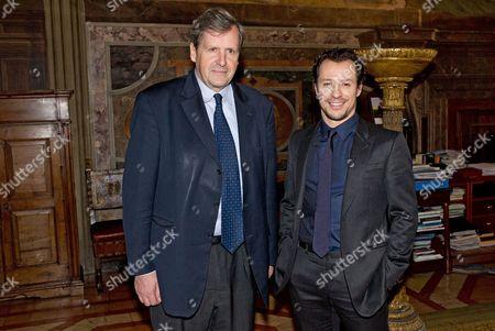 Ambassador Alain Le Roy, Stefano Accorsi
