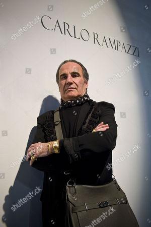 Editorial image of The designer Carlo Rampazzi at 'La Magnifica Forma' exhibition, Milan, Italy - 21 Jan 2014