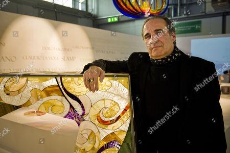 Editorial picture of The designer Carlo Rampazzi at 'La Magnifica Forma' exhibition, Milan, Italy - 21 Jan 2014