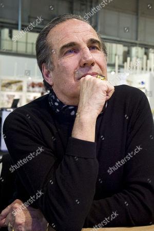 Editorial photo of The designer Carlo Rampazzi at 'La Magnifica Forma' exhibition, Milan, Italy - 21 Jan 2014