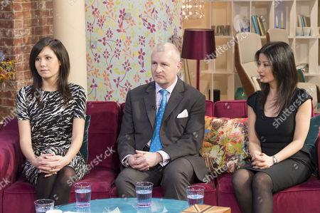Jamie Gaw, Jason Hunter and Alicia Alinia