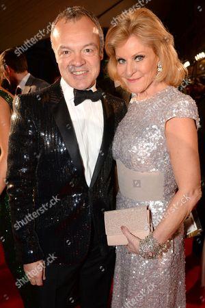 Graham Norton and Maria McErlane