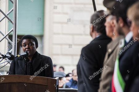 Italian Minister Cecile Kyenge