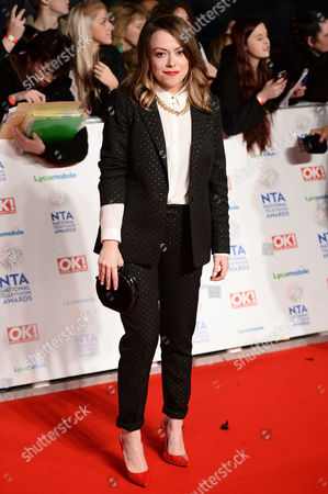 Editorial picture of National Television Awards, The O2, London, Britain - 22 Jan 2014