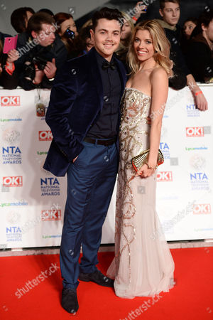 Ray Quinn and Emma Stephens