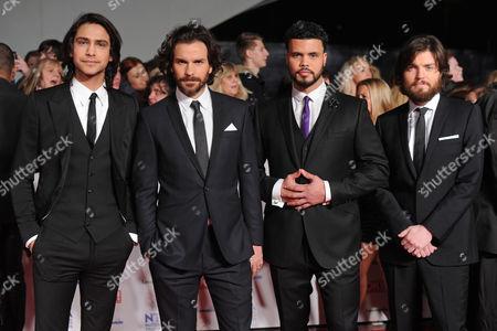 The Musketeers - Tom Burke, Luke Pasqualino, Santiago Cabrera and Howard Charles