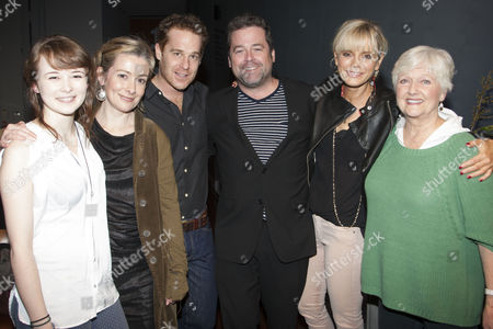 Shannon Tarbet (Avery), Emma Fielding (Gwen), Adam James (Don), Peter DuBois (Director), Emilia Fox (Catherine) and Polly Adams (Alice)