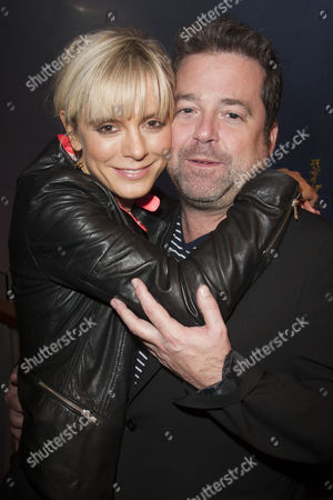Emilia Fox (Catherine) and Peter DuBois (Director)