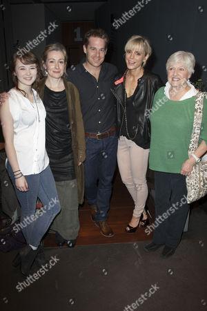 Shannon Tarbet (Avery), Emma Fielding (Gwen), Adam James (Don), Emilia Fox (Catherine) and Polly Adams (Alice)