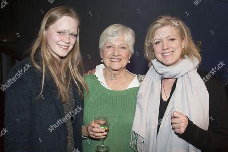 Cecilia Calf, Polly Adams (Alice) and Caroline Harker