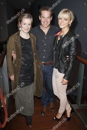 Emma Fielding (Gwen), Adam James (Don) and Emilia Fox (Catherine)