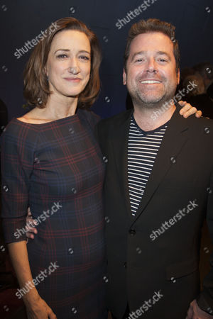 Stock Picture of Haydn Gwynne and Peter DuBois (Director)