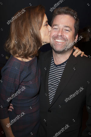 Stock Image of Haydn Gwynne and Peter DuBois (Director)