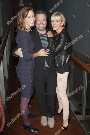 Haydn Gwynne, Peter DuBois (Director) and Emilia Fox (Catherine)