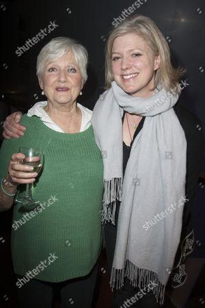 Polly Adams (Alice) and Caroline Harker