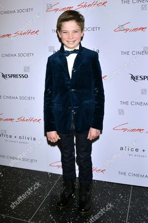 Editorial picture of Cinema Society 'Gimme Shelter' film screening, New York, America - 22 Jan 2014