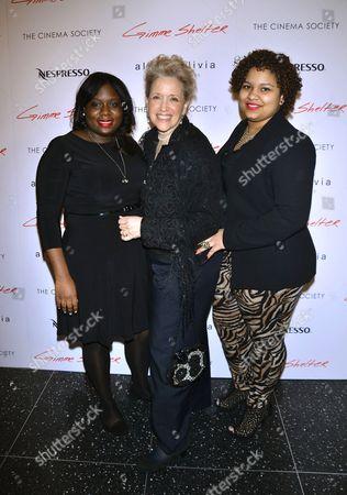 Stock Photo of Darlisha Dozier, Kathy DiFiore and Wanda Santos