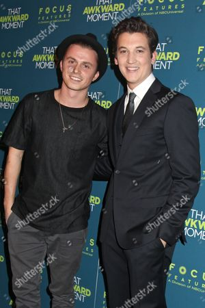 Kenny Wormald and Miles Teller