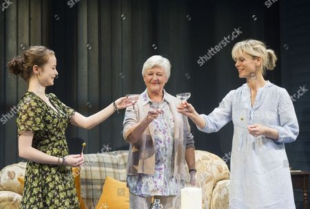 Editorial image of 'Rapture, Blister, Burn' play at Hampstead Theatre, London, Britain - 20 Jan 2014