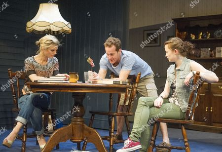 Emilia Fox as Catherine, Adam James as Don, Shannon Tarbet as Avery