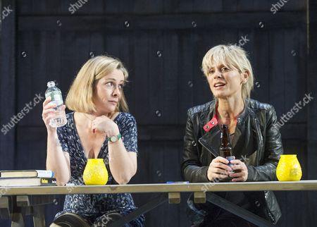 Emma Fielding as Gwen, Emilia Fox as Catherine