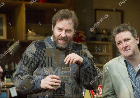 Ardal O'Hanlon as Jim, Risteard Cooper as Finbar