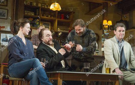Dervla Kirwan as Valerie, Brian Cox as Jack, Ardal O'Hanlon as Jim, Risteard Cooper as Finbar