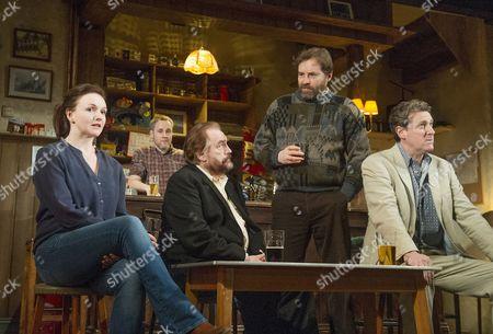 Dervla Kirwan as Valerie, Peter McDonald as Brendan, Brian Cox as Jack, Ardal O'Hanlon as Jim, Risteard Cooper as Finbar