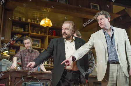 Peter McDonald as Brendan, Brian Cox as Jack, Risteard Cooper as Finbar