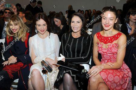 Alexandra Golovanoff, Elsa Zylberstein, Mouna Ayoub and Natasha Andrews