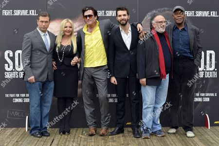 Stephen Baldwin, Monika Bacardi, Michael Madsen, Andrea Iervolino, the director Alessandro Capone and Danny Glover