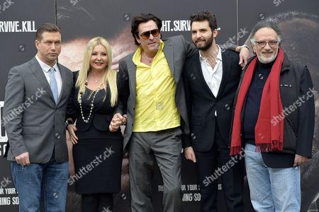 Stephen Baldwin, Monika Bacardi, Michael Madsen, Andrea Iervolino, the director Alessandro Capone