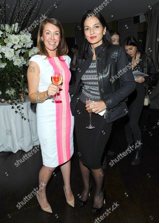 Editorial image of Madderson London Spring/Summer 2014 womenswear collection launch party, London, Britain - 23 Jan 2014